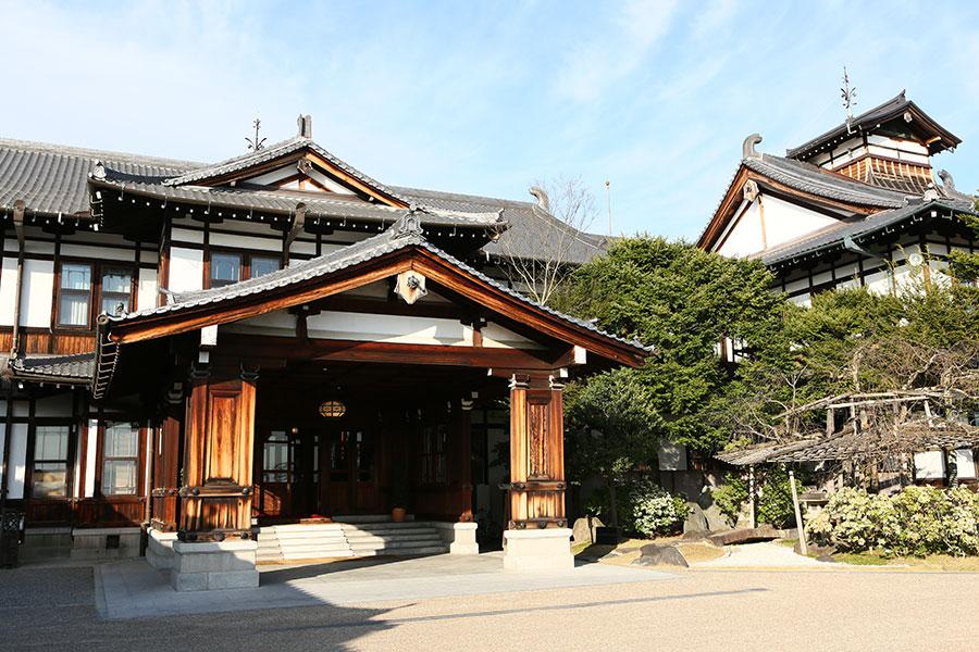 クラシック感も魅力な奈良ホテル