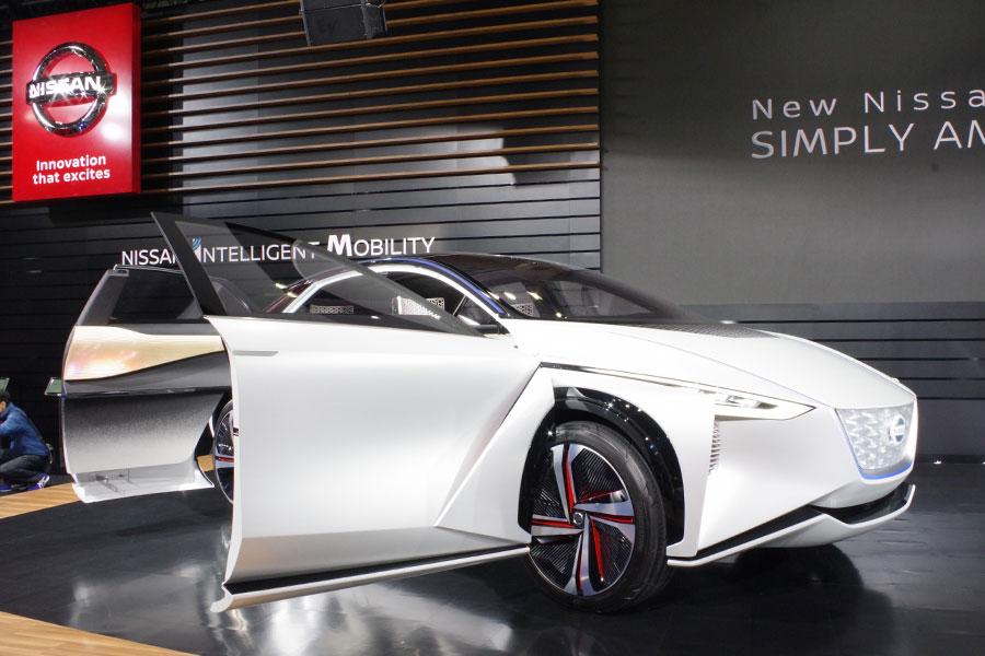 日産のコンセプトカー「NISSAN IMx」。完全自動運転を実現する