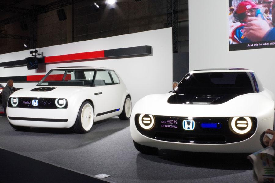 EVに本格参戦したホンダのコンセプトカー「Honda Urban EV Concept」と「Honda Sports EV Concept」