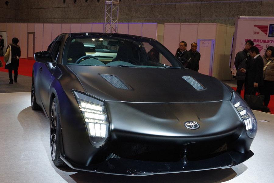 トヨタのハイブリッド・スポーツカー「GR HV SPORTS concept」