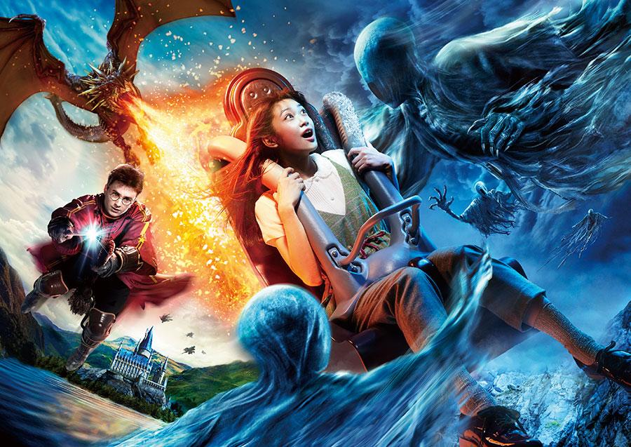 魔法の世界をさらに体感できるアトラクションへとリニューアル予定のハリー・ポッター・アンド・ザ・フォービドゥン・ジャーニー