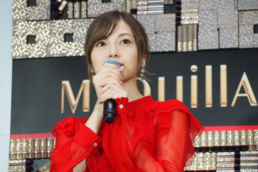 乃木坂46の東京ドーム単独公演について「私にとって1つの目標でもあったので、本当に夢のような時間でした」と話す白石