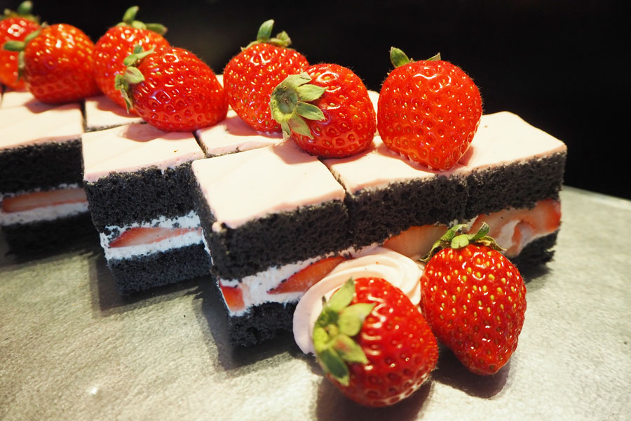 ペストリーシェフ・伊藤慎二さんおすすめの「苺ショートケーキ」。