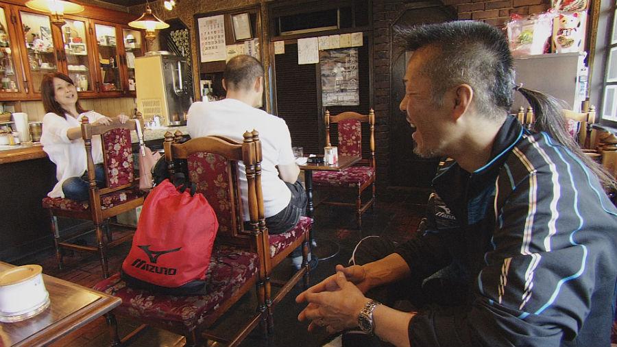 今月初旬に閉店したるみさんの実家の喫茶店「白千館」は、辰吉夫婦にとっても憩いの場だった