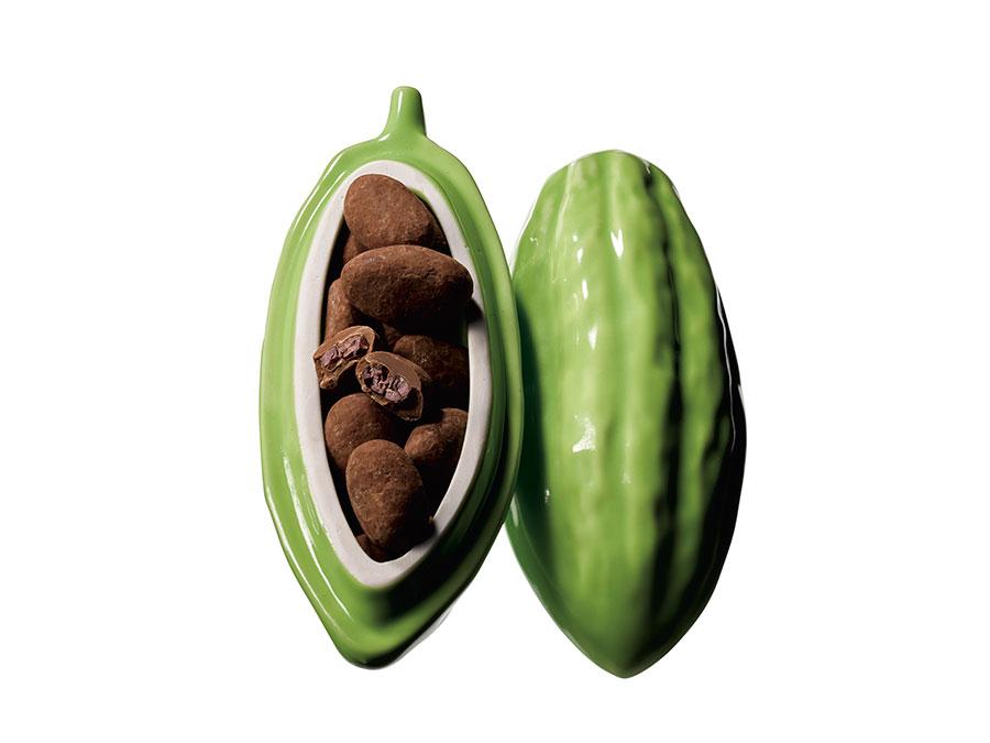 「ミュゼ・ドゥ・ショコラ テオブロマ」cacao de cacao(カカオ デュ カカオ)(60g)2,916円(阪急限定)