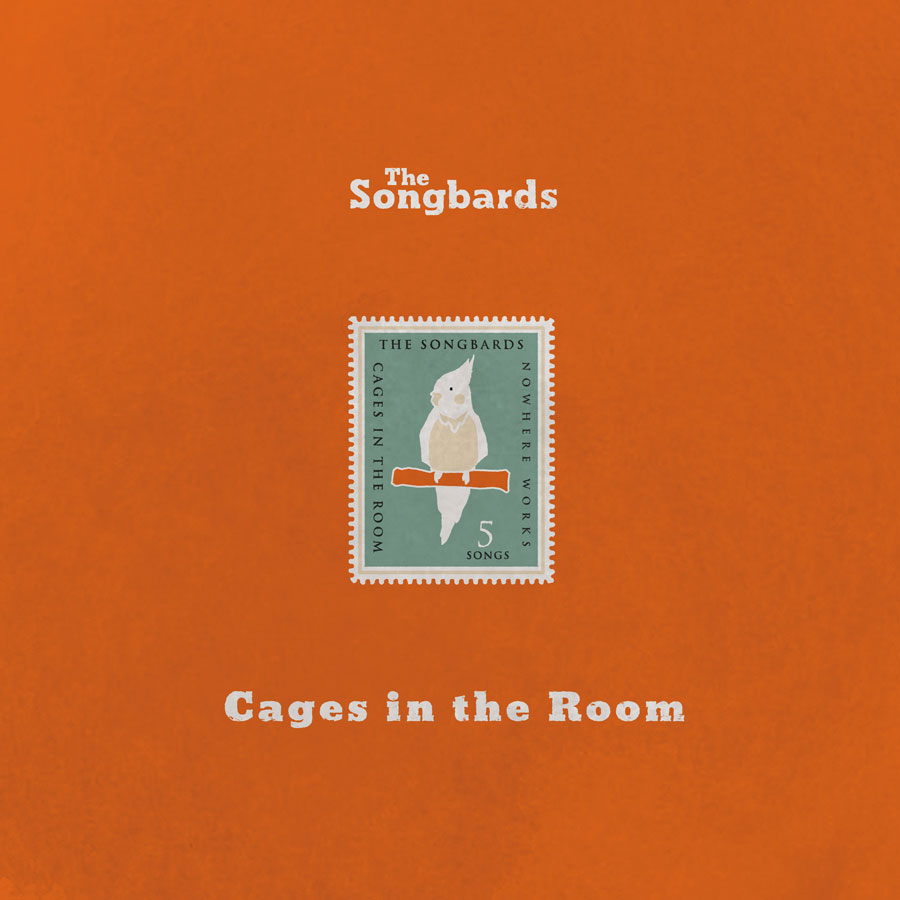 The Songbards 1stミニアルバム『Cages in the Room』ジャケット写真