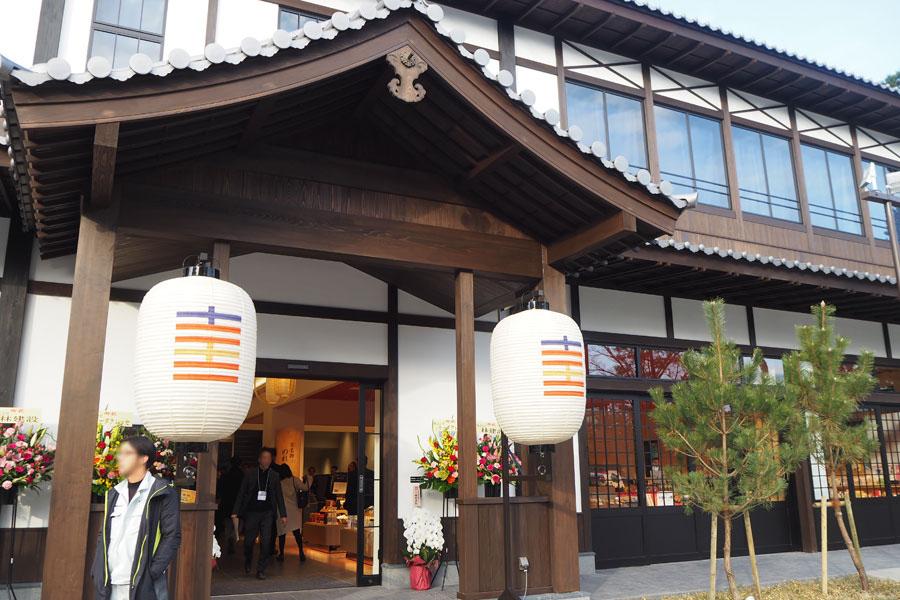 第1期では28店舗がオープンした「京都・時代祭館 十二十二(とにとに)」