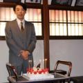 12月9日の誕生日をNHK大阪放送局のスタジオで祝福された高橋一生