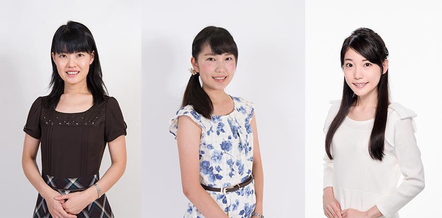 右から加藤九段と対談する竹俣紅女流初段、長谷川優貴女流二段、村田智穂女流二段