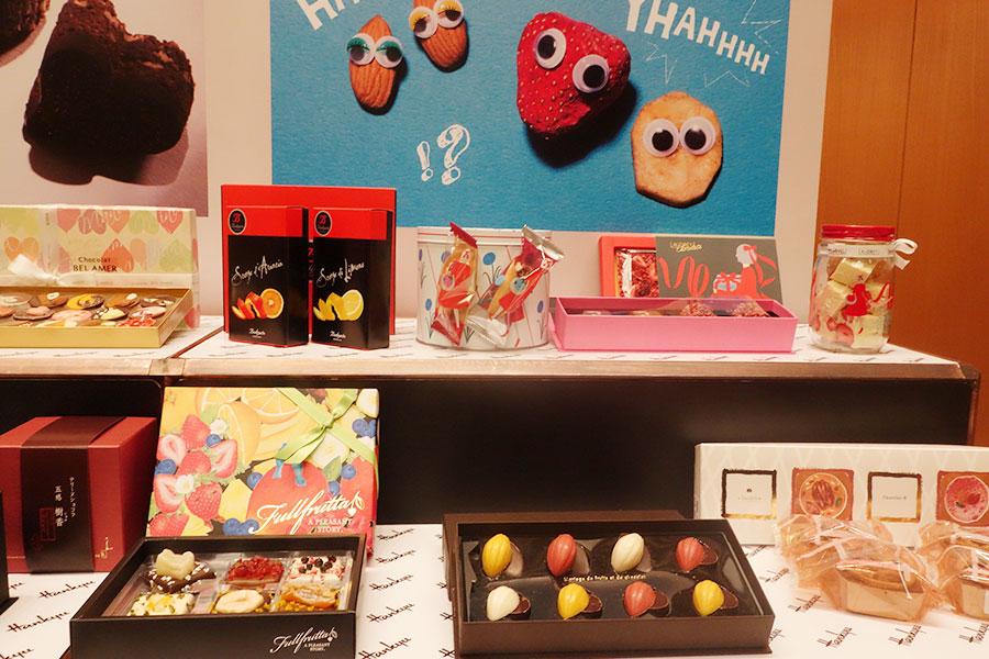 『フルーツ&ナッツ』のエリアでは、いちご専門店『オードリー』も昨年にひき続き登場