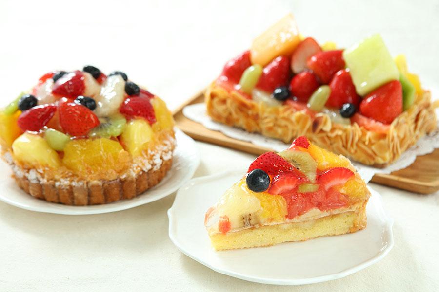 果物店によるフルーツタルト専門店「ミャムミャム」