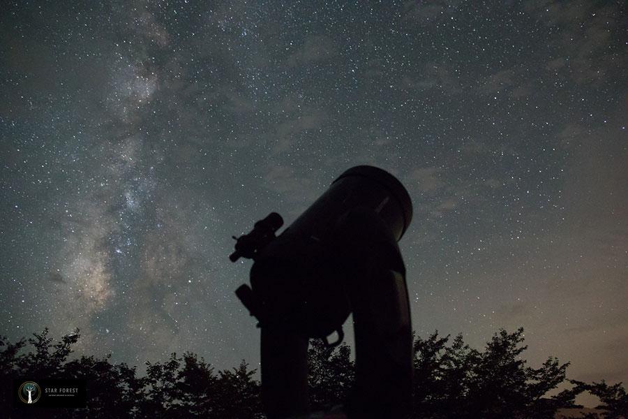 和歌山県・みなべ町で、毎日星空ツアーをおこなう