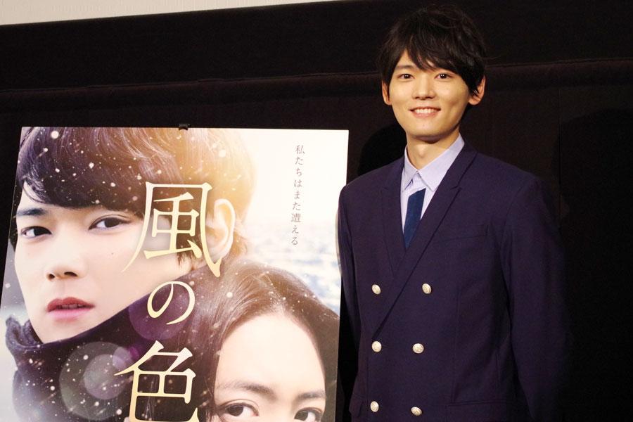 日韓合作の映画『風の色』で主演の古川雄輝(15日・大阪市内)