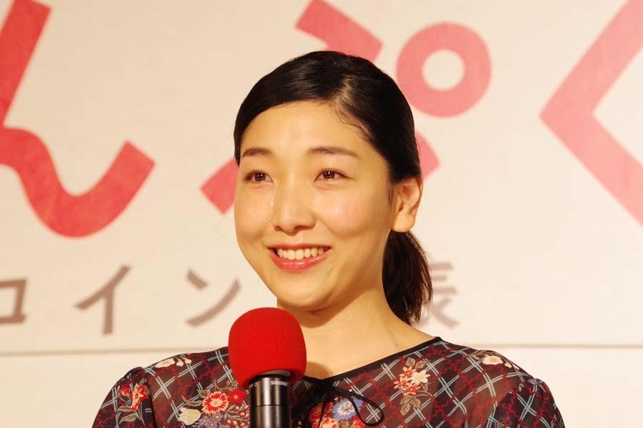 「ココに立ってることがなんてありがたいことなんだろう」と家族の支えに感謝し涙を流した安藤(31日・NHK大阪放送局)