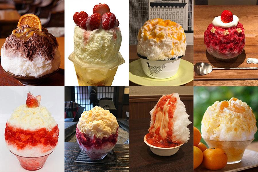 かんきつレアチーズ、オレンジミルクショコラ、ゆふおとめ&あまおう苺のホワイトチョコ氷など、日替わりでメニューを提供予定
