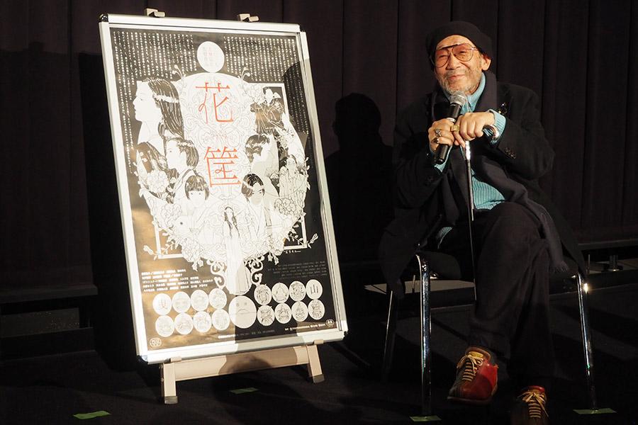 まるで講演のような充実すぎる内容となった大林宣彦監督の舞台挨拶(27日・大阪市内)