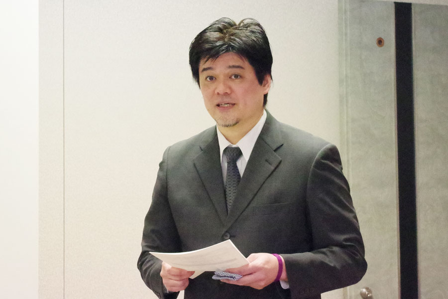 7代目座長の坂田大地