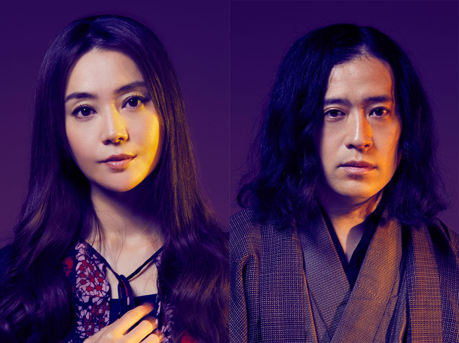 女優・観月ありさ役を演じる観月と、作者・又吉直樹役を演じる又吉
