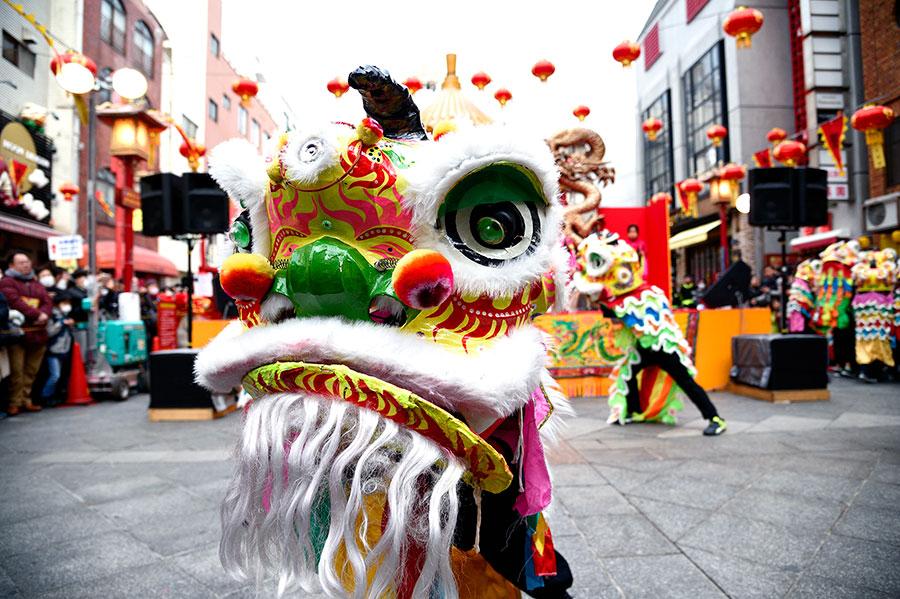 「駆邪と招福」の象徴の獅子が舞う、中国獅子舞(写真はイメージ)