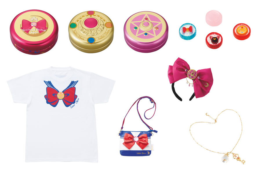 コンパクトデザインのキャンディ缶、着るだけでなりきれるTシャツやカチューシャ