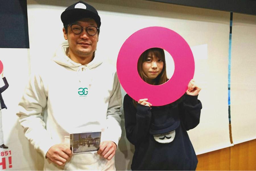 FM OH!『Music Bit』のDJ遠藤淳とましのみ