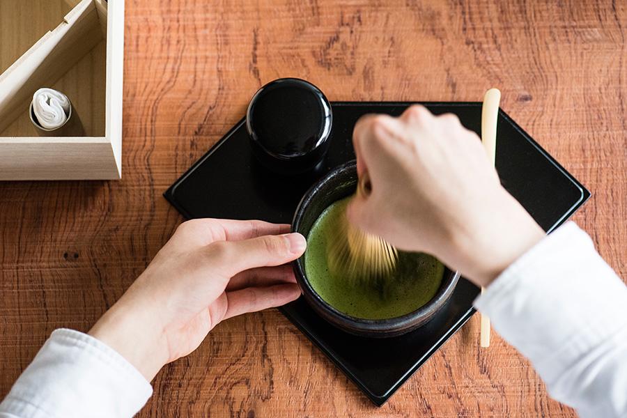 店内で茶道について学べる、「稽古」のイメージ