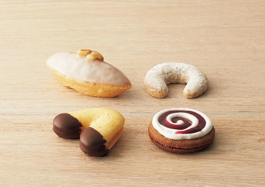 通常はオーストリアでしかいただけない「デメル」の生クッキー。1個292円、詰め合わせセットもあり