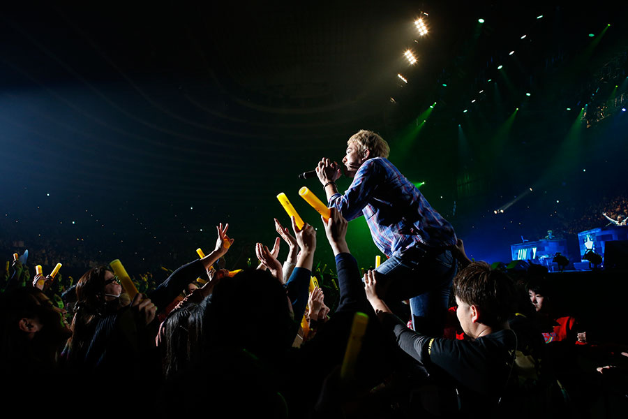 『LIVE SDD 2018』に出演したファンキー加藤(17日、大阪城ホール)写真提供:FM OH!