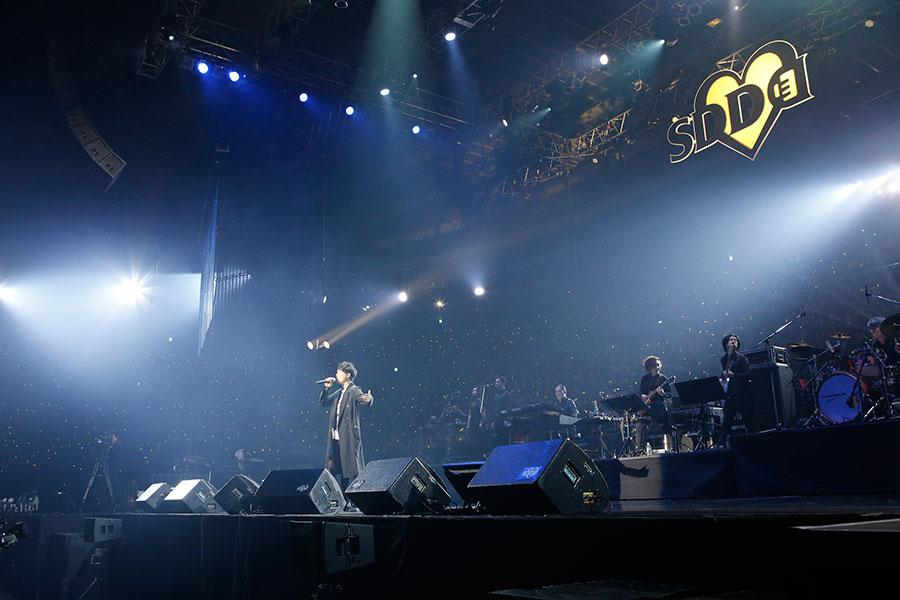 「大阪城ホール」で『ひそかな夢』を歌い、「最高に楽しかった」と話した山崎育三郎