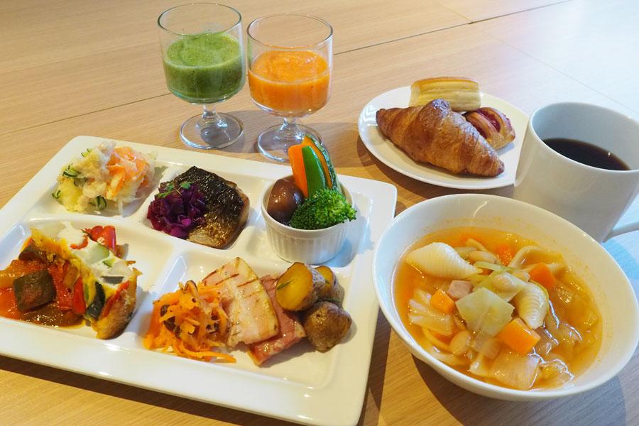 50年以上の歴史を持つ札幌パークホテルの総料理長 江本 浩司が監修した「朝食バイキング」