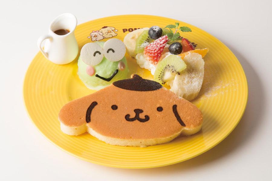 ポムポムプリンパンケーキ けろっぴといっしょ♪(990円+税)