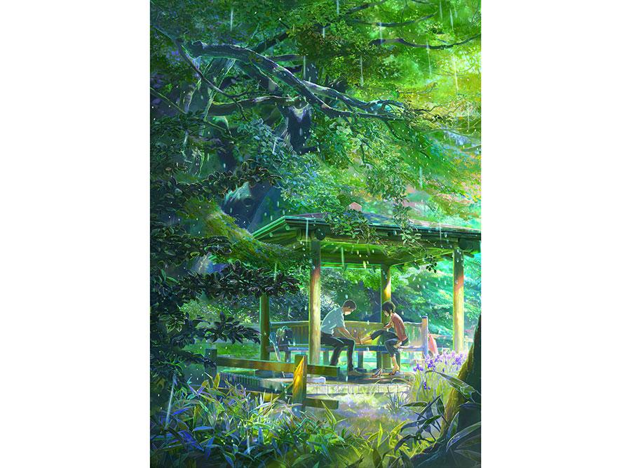 『言の葉の庭』© Makoto Shinkai / CoMix Wave Films