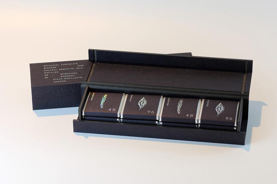 「4896」1380円(税別は、熊野芝原杉4個、熊野クロモジ4個