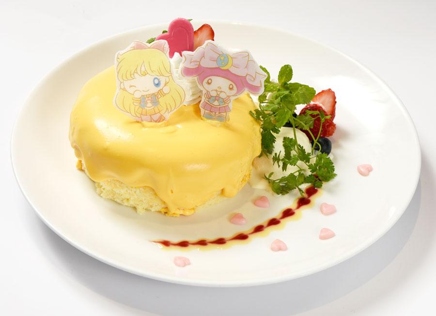 マイメロディもびっくり!セーラーヴィーナスのラブ・ミー・チェーン ケーキ☆(1490円)