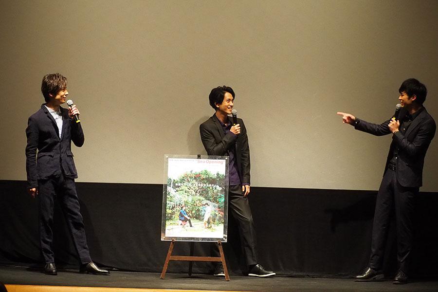 舞台での共演が多く、和気あいあいとした雰囲気で3人のトークがおこなわれた
