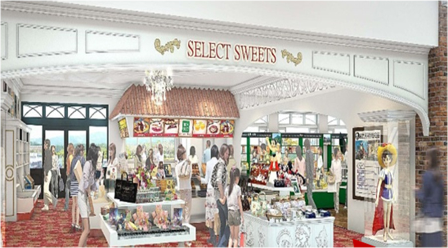 セレクトスイーツコーナーには、兵庫を代表する有名ブランドが中心。スイーツコーディネーター松本由紀子さんがセレクトした、神戸パティスリーの焼き菓子も