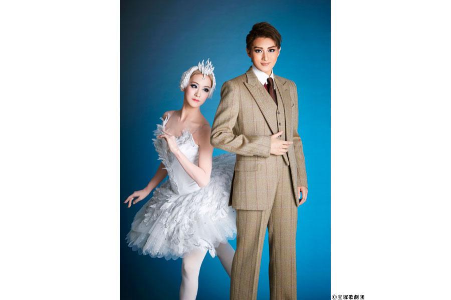 「カンパニー」イメージ。青柳誠二(珠城りょう)と、バレリーナ・高崎美波(愛�