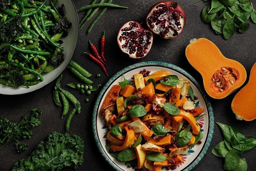 野菜をたっぷり使ったメニューも豊富な「フランツ&エヴァンス」