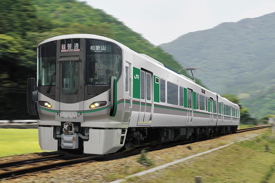 JR西日本の近畿エリアで「車載IC改札機」を初搭載した227系車両