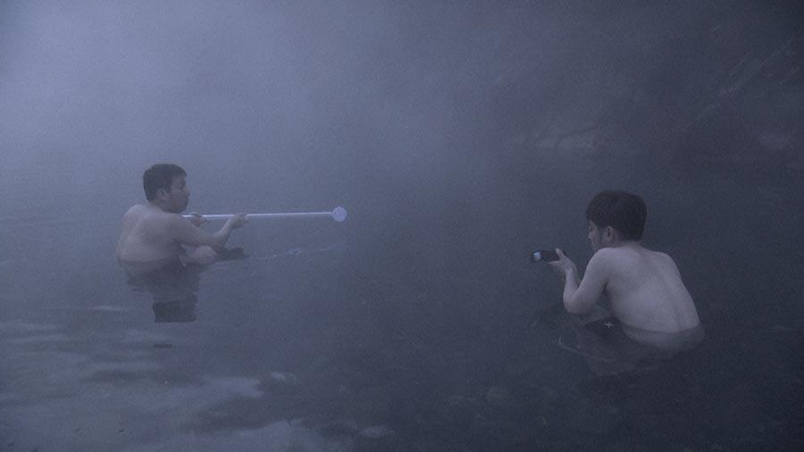 お笑いコンビ・なすなかにしは、日本一モクモク湯気の露天風呂を探しに全国をリサーチする