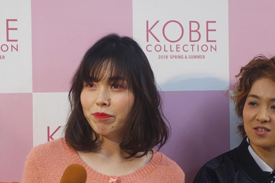 1時間半以上かけて、「メイクさんはかわいいかわいいと褒めてくれた」と誠子