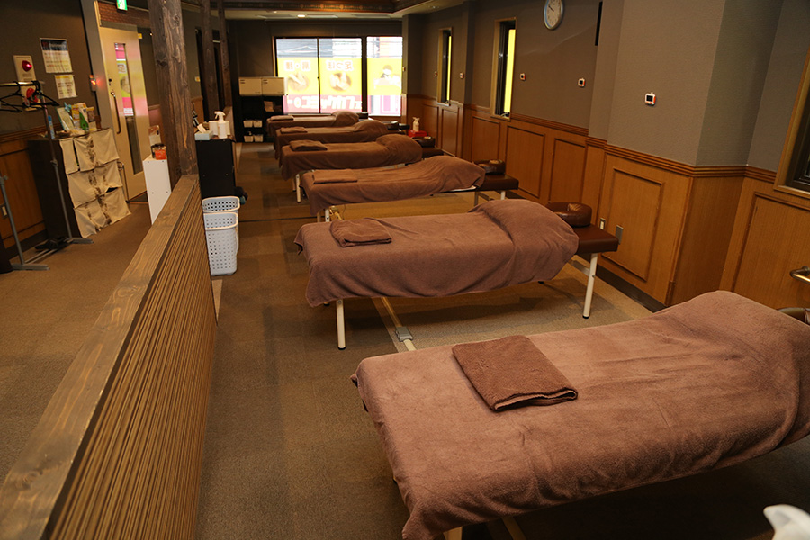 「睡眠カフェ」が開催されるリラクゼーションスペース「りらくる」