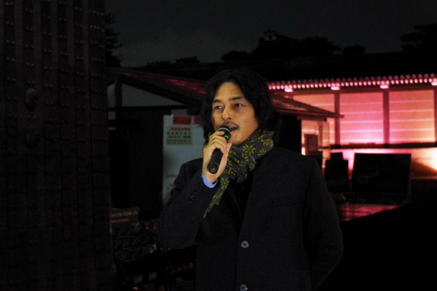 イベント概要を説明するネイキッド代表の村松さん