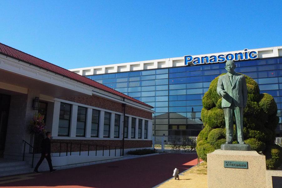 3月7日にリニューアルオープンした「パナソニックミュージアム」(左の建物が「松下幸之助歴史館」)