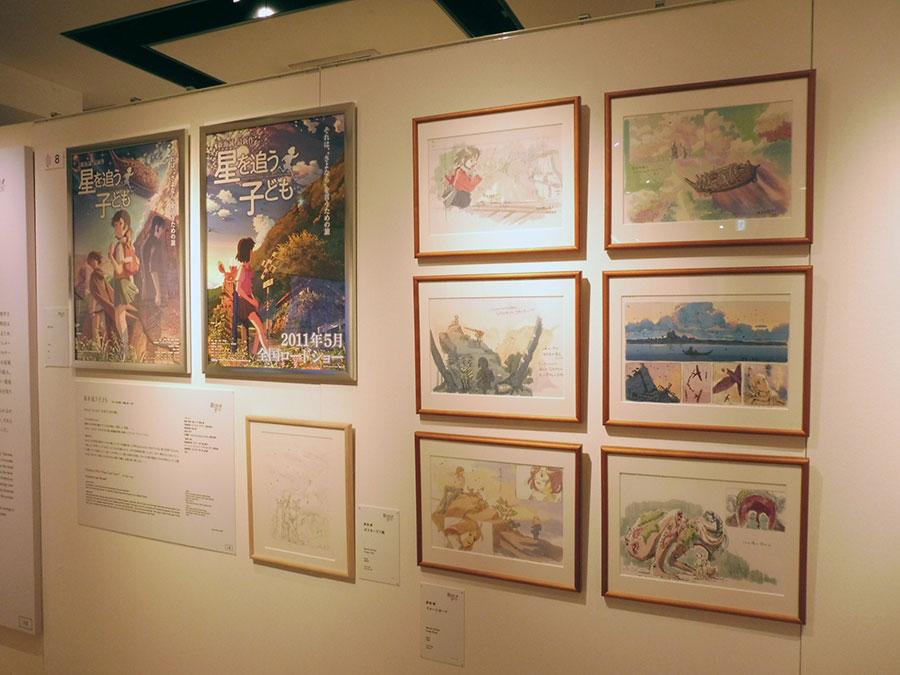 「星を追う子ども」(2011年) ポスター、ポスターラフ画、イメージボード