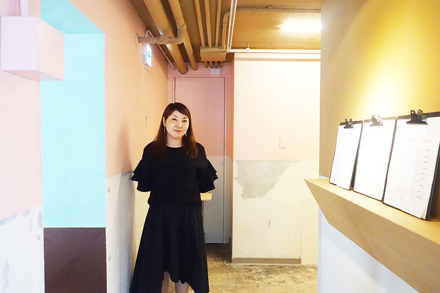 デザイナーとして活躍する、オーナーの寺本さん