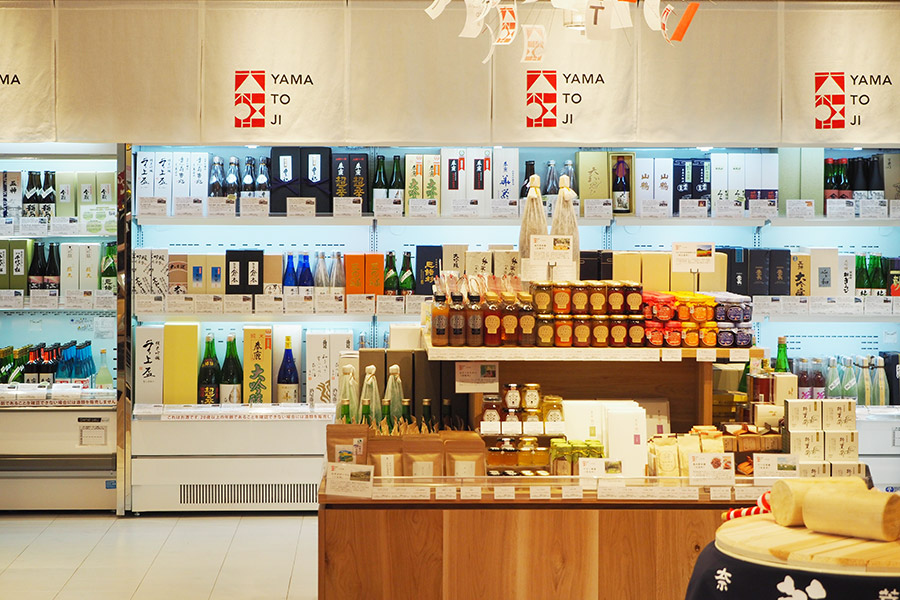 3月14日にオープンした「近鉄百貨店奈良店」内のコンセプトショップ「大和路」
