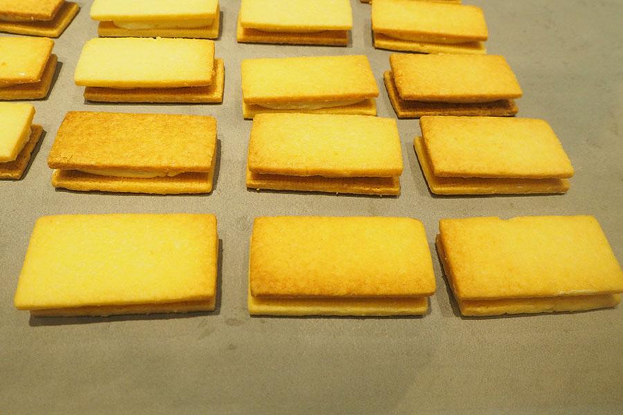 バタークリームと生地の絶妙なバランスを追求した「バターサンド」(6個〜販売可能)