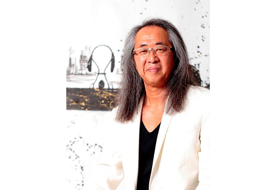 シュルツ氏からYOSHIというアーティスト名を命名された大谷芳照氏