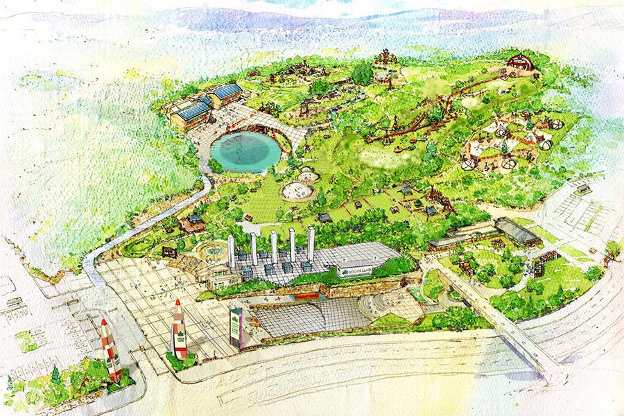 6月30日オープンの総合アウトドアレジャー施設「LOGOS LAND」(イメージ)